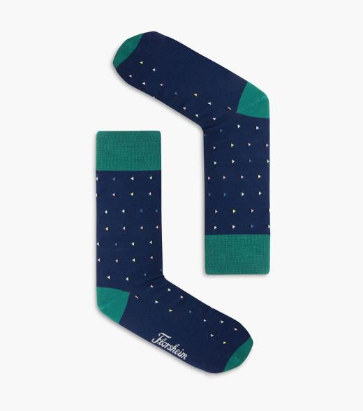 Trig Mercerised Cotton Sock
