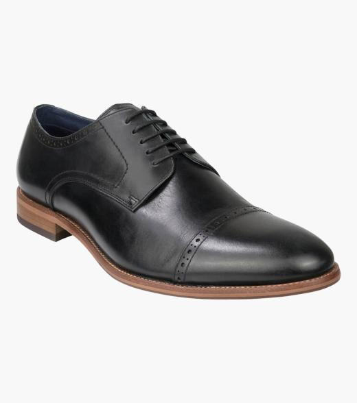 Flex Cap Cap Toe Derby