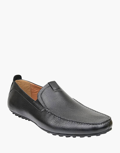 Corona MOC TOE VENETIAN DRIVER in BLACK for $199.00