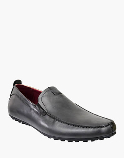 Corona MOC TOE VENETIAN DRIVER in DARK GREY for $199.00
