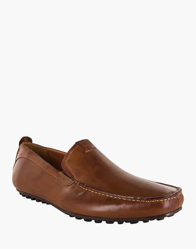 Corona MOC TOE VENETIAN DRIVER in M.BRN/WAX for $199.00